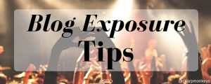 Blog exposure tips