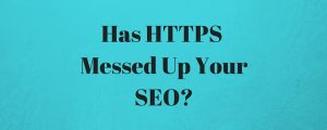 HTTPS SEO Issues