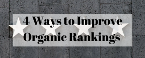 Boost organic ranking for blogs