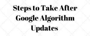 SEO Tips Algorithm Updates