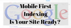 Mobile first ranking