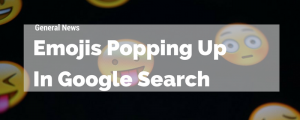 Emojis in Google Search Snippets
