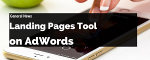 AdWord landing pages tool