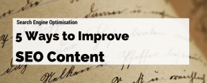 Content Marketing Tips SEO