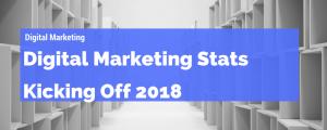 digital marketing stats 2018