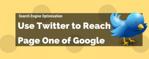 Can Twitter Help You Rank on Page One of Google?