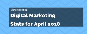 Digital Marketing Stats for April