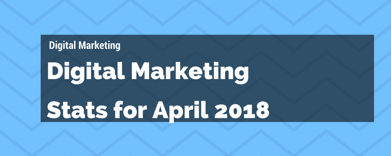 Digital Marketing Stats for April