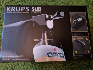 Product Review – The Sub from Krups – Draught Beer at Home