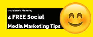 4 Effective Social Media Marketing Tips