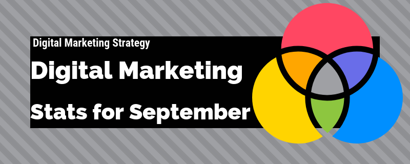 Digital Marketing Stats for September