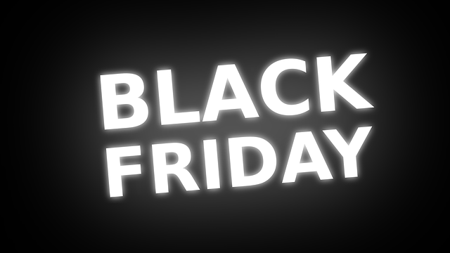Black Friday and Cyber Monday Deals Ad Unit on Google