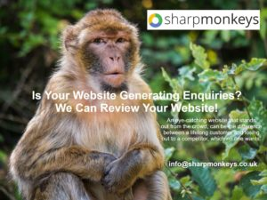 Is Your Website Generating Enquiries? Let Us Review Your Website