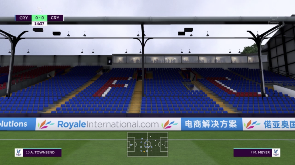 Royale digital marketing in FIFA