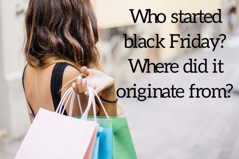 Who started Black Friday? Where did it originate from?