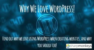 Why We Love WordPress!
